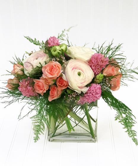 Hyacinth & Roses